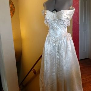 e06edadd4d4 Jessica McClintock. Vintage Jessica McClintock wedding gown